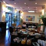 lobby e area colazione