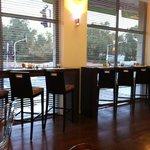 area colazione con sgabelli