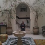 Central patio area of the riad