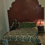 bedroom in the Diva suite