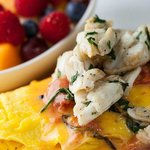 Lump Crab Meat Omelet