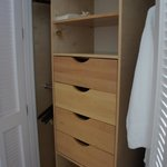Junior Suite Ocean Front - nice organization closet