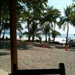 Direkt am Strand