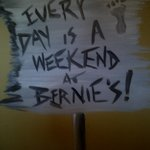 Bernie's Sign