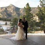 Wedding ceremony at the pavilion
