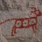 Mimbres cave painting