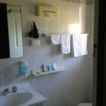 Small but clean bathroom