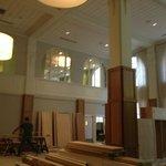 Lobby under renovation