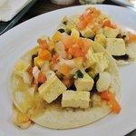 Tofu ranchero tacos
