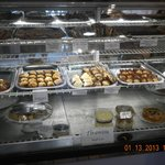 pastries shelves