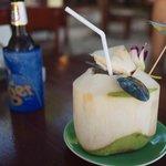 Great coconut drink