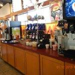 drinks area