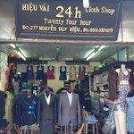24h, our tailor just a two minute stroll from Hai Au hotel