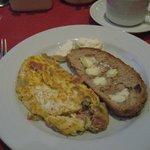Natalie's omelette