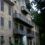 L'ingresso alla Villa Contessa Rosa