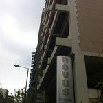 Εξωτερική όψη novus city hotel