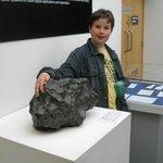 Armagh Planetarium - huge Meteorite