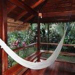 veranda del bungalow superior