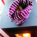 il pane sulla stufa a legna...come una volta