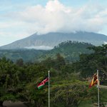 Amazing view of Mount Meru from our room