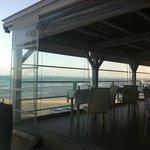 Lunchtime overlooking the ocean