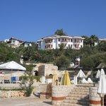 Veduta Hotel dalla spiaggia