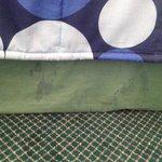 Dirty bedding