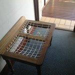 Broken worn down furniture