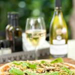 Thin-crust, wood-fired pizza & wine!