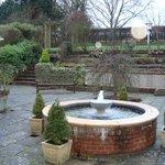 Gardens and fountain