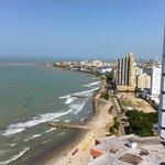 vista de Cartagena desde el decameron