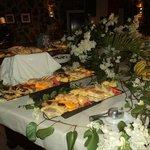il buffet di frutta e dolci
