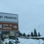1 км до Франции