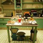 Lanche da tarde/noite na cozinha