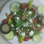 My Greek Salad! Yummy!