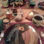 Beautiful Breakfast Setup