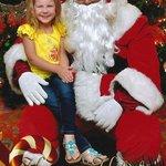 Santa was at the Atlantis