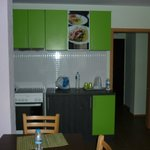 kitchen 1rst floor: fancy and equipped with the essentials