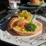 Scrumptious breakfast at Bellbird Lodge