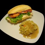 Hot Bar - Turkey Sandwich
