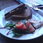 Hummous Toastie, Big Mouth Cafe, Partick