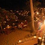 Souper sur la plage, ile de Caletas