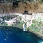 Gorgeous cenote only 15 mins walk away, amazing swim!