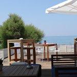 bar à côté de la plage