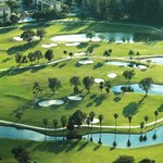 Aerial view of Country Club of Miami
