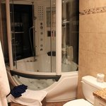 The Time Machine bathtub/steam sauna/shower combo