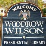 Woodrow Wilson Museum Sign