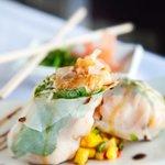 Thai Spiced Shrimp Rice Paper Roll
