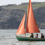 Sailing our beautiful drascombe lugger by georges head
