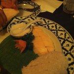 Delicious Mango sticky rice....